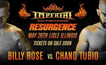 Imperial Kickboxing: Chand Tubio vs. Billy Rose