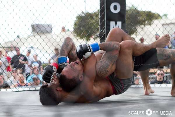 David Reyes at XFO Outdoor War