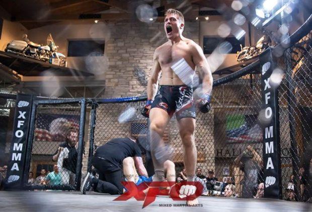 Justin Lovrich XFO lightweight champion