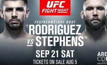 UFC Fight Night 159: Stephens vs. Rodriguez