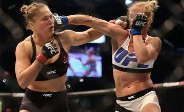 : History of women's MMA