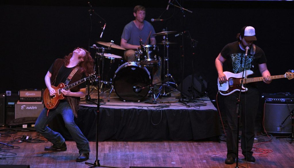 The band The Vaughan Building performs Sunday at the Arcada Theatre in St. Charles as part of the Suburban Chicago's Got Talent Top 20 show. - Mark Welsh | Daily Herald