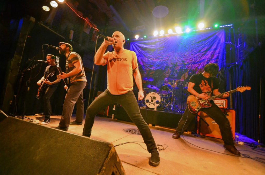 Screeching Weasel will play its only show of the year Saturday, July 27, at House of Blues in Chicago. - Courtesy of Brian Santostefano