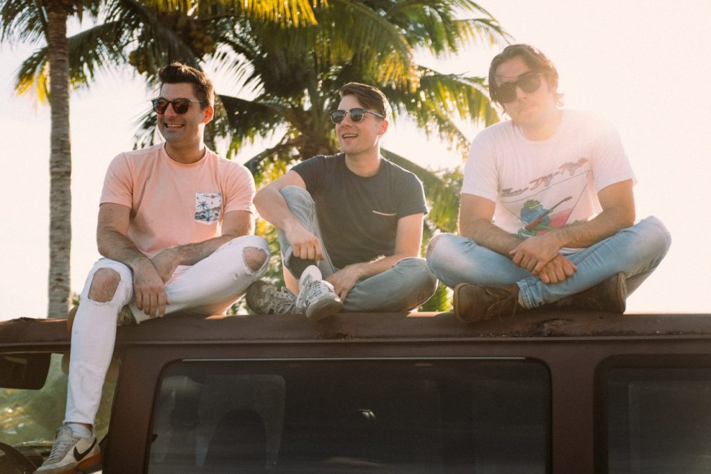 """Miami-based Magic City Hippies, featuring Buffalo Grove's Pat Howard, right, drops its new album, """"Modern Animal,"""" on streaming platforms Friday, Aug. 16. Courtesy of Magic City Hippies"""