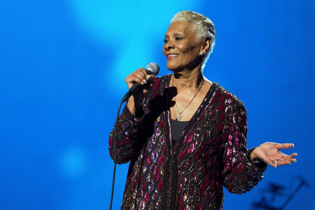 The Grammy-winning singer Dionne Warwick takes the RiverEdge Park stage Friday, Aug. 16. - Associated Press, 2017