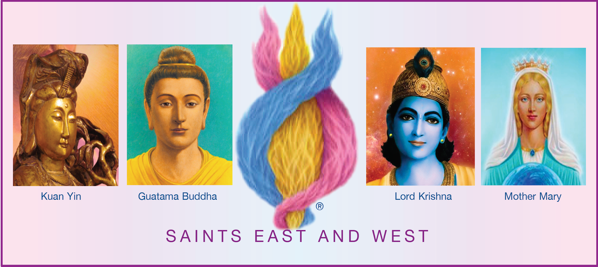 The Saints of East and West