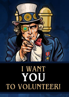 Volunteer for the Chicago Steampunk Exposition