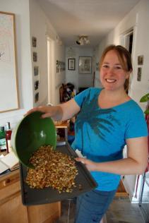 Jenny preparing her Patina