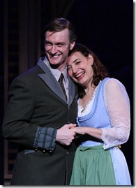 """Barbara Landis and Ryan de Ryke, in a scene from Chamber Opera Chicago's """"The Sound of Music"""", directed by Chuck Gessert."""