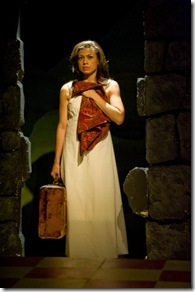 "Sandra Delgado stars in Silk Road Rising's ""Night Over Erzinga"" by Adriana Sevahn Nichols, directed by Lisa Portes."