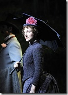 """Carmen Cusack as Dot in Chicago Shakespeare's """"Sunday in the Park with George"""" by Stephen Sondheim and James Lapine, directed by Gary Griffin. (photo credit: Liz Lauren)"""