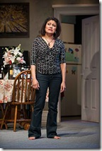 """Sandra Marquez star in Steppenwolf Theatre's """"The Motherf**ker with the Hat"""" by Stephen Adly Guirgis, directed by Anna D. Shapiro. (photo credit: Michael Brosilow)"""
