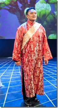 "Geoffrey Agpalo stars as Prince Sou Chong in Chicago Folks Operetta's ""The Land of Smiles"" by Franz Lehar, directed by Elizabeth Marolius."