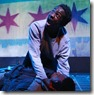 """Shavac Prakash and Scott Baity, Jr star in Collaboraction's """"Crime Scene: A Chicago Anthology,"""" conceived and directed by Anthony Moseley. (photo credit: Cesario Moza)"""