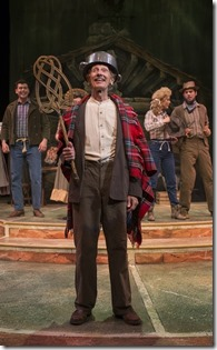 "James Harms stars as Jed Clampett in Theatre at the Center's world premiere ""The Beverly Hillbillies: the Musical"" by David Rogers, Amanda Rogers and Gregg Opelka, directed by David Perkovich. (photo credit: Michael Brosilow)"