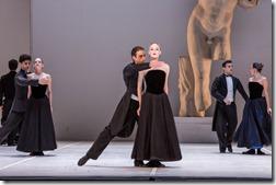 "Artur Babajanyan and Mahallia Ward in Joffrey Ballet Chicago's ""Sylvia,"" choreographed by John Neumeier, music by Léo Delibes. (photo credit: Cheryl Mann)"