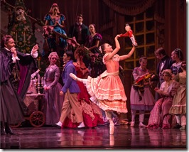 """Cara Marie Gary in Joffrey Ballet's """"The Nutcracker,"""" conceived and directed by Robert Joffrey. (photo credit: Cheryl Mann)"""