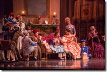"""Cara Marie Gary wtih Children in Joffrey Ballet's """"The Nutcracker,"""" conceived and directed by Robert Joffrey. (photo credit: Cheryl Mann)"""