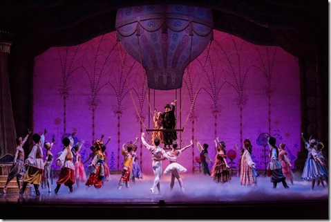 """Finale to Joffrey Ballet's """"The Nutcracker,"""" conceived and directed by Robert Joffrey. (photo credit: Cheryl Mann)"""