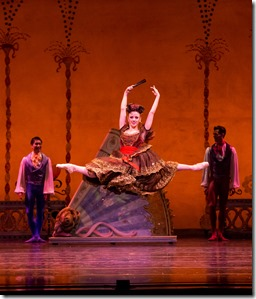 """Nicole Ciapponi in Joffrey Ballet's """"The Nutcracker,"""" conceived and directed by Robert Joffrey. (photo credit: Cheryl Mann)"""