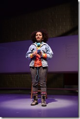 Ariana Burks as Marjan in The Compass, Steppenwolf Theatre Young Adults