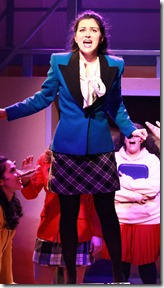 Courtney Mack in Heathers, Kokandy Productions