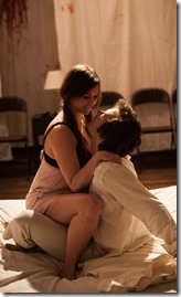 Jillian Rea as Juliet and Christopher Waldron in From These Fatal Loins, Ruckus