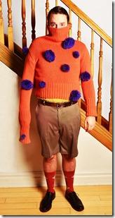 Sam Button-Harrison as Lester in Lesters Dreadful Sweaters, Lifeline Theatre 1