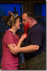 Sarah Hayes and Jon Steinhagen in House of Blue Leaves at Raven Theatre