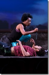 Sydney Charles and Julian Parker in Prowess, Jackalope Theatre