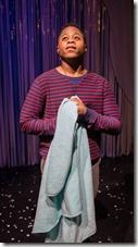 Daniel Kyri stars as Linus in Charlie Brown Christmas, Broadway Chicago Playhouse
