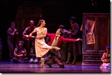 Amanda Assucena and Alberto Velazquez as Marie and Peter in The Nutcracker, Joffrey Ballet