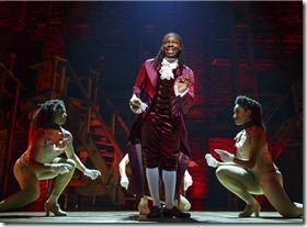 Chris De'Sean Lee stars as Marquis de Lafayette in Hamilton, Broadway Chicago
