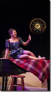Christine Bunuan stars in Christmas at Christine's, Silk Road Rising Chicago 4