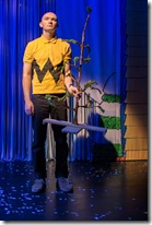 Jason Groff stars as Charlie Brown in A Charlie Brown Christmas, Broadway Chicago