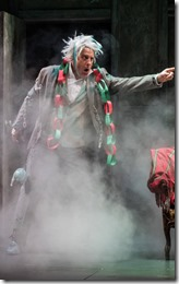Joe Dempsey stars in Twist Your Dickens, Second City at Goodman Theatre 2016