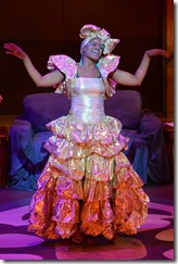 Kylah Frye stars as Fairygodmama in The Other Cinderella, Black Ensemble Chicago