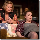 Cecelia Wingate and Liz Sharpe in Byhalia Mississippi, New Colony Definition Theatre