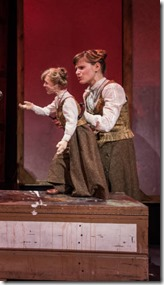 Samuel Taylor and Lindsey Noel Whiting star in Mr. and Mrs. Pennworth, Lookingglass 4