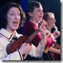 Sarah Goeden, Justine C. Turner and Nicole Bloomsmith in Once in a Lifetime, Strawdog