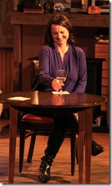 Sarah Wellington and Brad Armacost star in The Weir, Irish Theatre Chicago