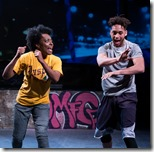 Sydney Charles and Julian Parker in Prowess, Jackalope Theatre (Joel Maisonet)