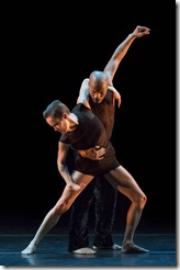 Elisa Clarke and Vernard J. Gilmore star in Mauro Bigonzetti's Deep, Photo by Paul Kolnik