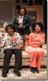 Greta Oglesby, Camille Robinson, Jacqueline Williams, Donica Lynn and Linda Bright Clay in Wonder in Soul