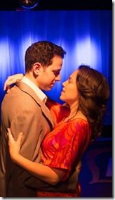 Dan Gold and Carmen Risi star as Vernon and Sonia in They're Playing Our Song, Brown Paper Box Co