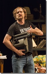 Erik Jensen stars as Lester Bangs in How to Be a Rock Critic, Steppenwolf Theatre 4