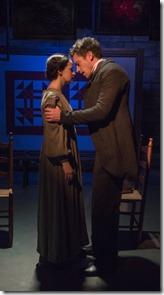 Ashley Neal and Steve Haggard star as Grace Marks and Simon Jordan in Alias Grace, Rivendell Theatre