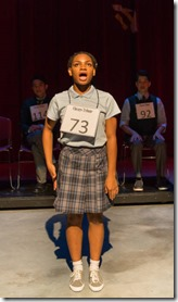 La Shone T. Kelly stars as Akeelah in Akeelah and the Bee, Adventure Stage Chicago