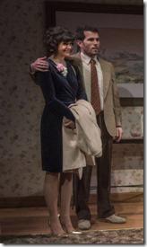 Lucy Carapetyan, Benjamin Sprunger, Stella Martin and Lynne Baker star in Nice Girl, Raven Theatre