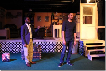 Byron Coolie and Michael Mejia-Beal star in Kingdom, Broken Nose Theatre